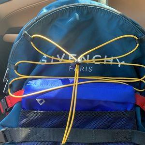 50% OFF Givenchy Men's Logo-Print Hiking Backpack